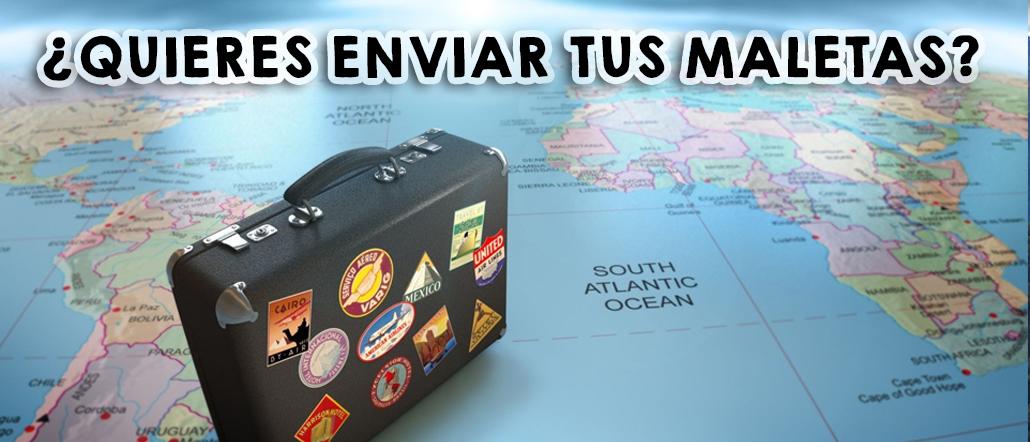 ¿Quieres enviar tus maletas?