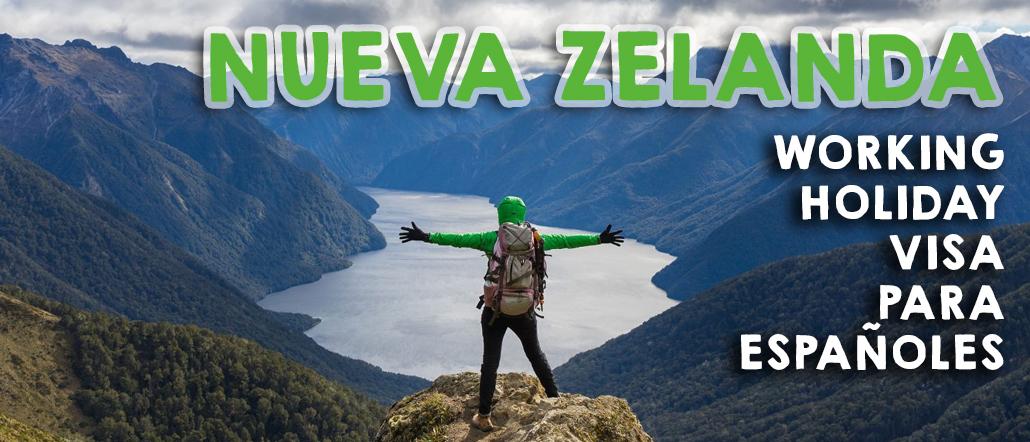 Working Holiday Visa Nueva Zelanda para españoles